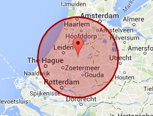 werkgebied Leiden